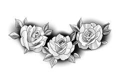 Rose Tattoos, Flower Tattoos, Girl Tattoos, Tattoo Art, Arm Tattoo, Rose Reference, Desenho Tattoo, Butterfly Design, Spider