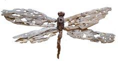 Dragonfly driftwood by Tony Fredriksson