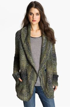 Hinge® Shawl Collar Cardigan available at #Nordstrom