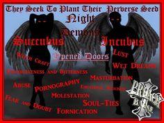 incubus succubus demons night