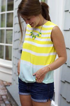 Sequins & Stripes: A Personal Style + Fashion Blog by Liz Schneider: Outfit: Summer Essentials