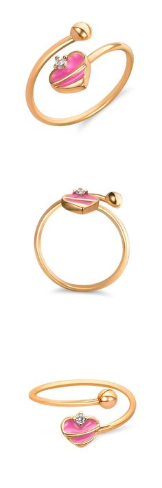 Rings 14K Gold Baby Ring Jewelry For Baby Girl