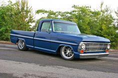 1969 F-100 -This is closes I found like My old Ford. My was Bahama Blue, with a 427cu. I love it.