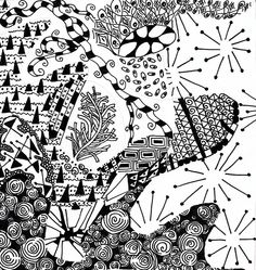 Zentangle Patterns for Beginners | Zentangles Patterns For Kids