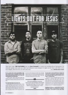 The Flatliners in Hysteria Mag