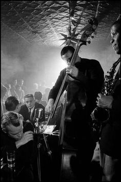 """nprfreshair: """" barcarole: """"Charles Mingus in Photo by Guy Le Querrec. """" New Collection Catches Jazz Bassist Charles Mingus 'Live at Montreux A new set features a decades-old recording. Gjon Mili, Soul Jazz, Jazz Artists, Jazz Musicians, James Dean, Jazz Cat, Charles Mingus, Margaret Bourke White, Band Pictures"""