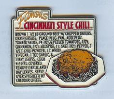Never forget! Chili Recipes, Crockpot Recipes, Cooking Recipes, Cooking Ideas, Gold Star Chili Recipe, Skyline Chili, R Cafe, Mini Corn Dogs, Cincinnati Chili