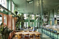 Amsterdam East's tropical Bar Botanique is the perfect place for the city's cool cats to stray off the path...