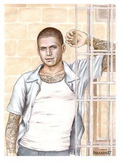 Michael - Prison Break by hazzard7.deviantart.com on @deviantART