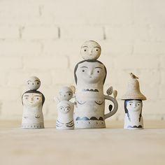 Ceramic Totem Heidi Anderson