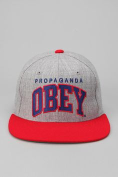 OBEY Throwback Snapback  UrbanOutfitters Dope Style 8bb8211e99d8
