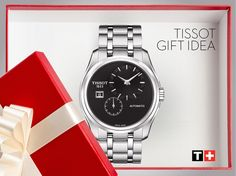 #GiftIdea - classic & elegant the #Tissot Couturier Automatic will suit every wrist