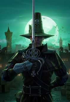 Victor Saltzpyre, Witch Hunter
