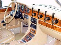 Beer lover's dream car!