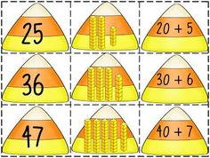 First Grade Wow: Candy Corn Connection Teaching Second Grade, Second Grade Math, First Grade Classroom, Math Classroom, Kindergarten Math, Teaching Math, Classroom Ideas, Teaching Ideas, Grade 2
