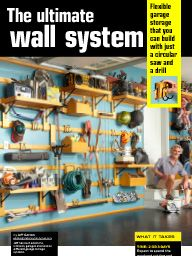 "I saw this in ""Ultimate garage storage"" in The Family Handyman September 2014."
