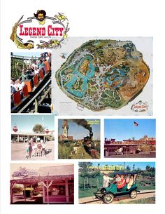 If you lived in Arizona back in the 60's to the 80's, you probably remember LEGEND CITY. I remember going there lots of times with my family. What do you remember about the amusement park?