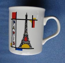 Paris France Eiffel Tower Millenium Coffee Tea Cup Mug Made in England
