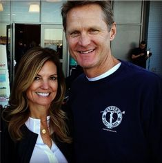 2c4923998 Steve Kerr and his wife Margot Nba Coaches