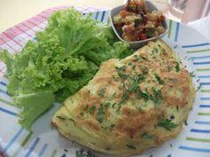 Receita Prato Principal : Omelete nutritivo de Beta Tiossi