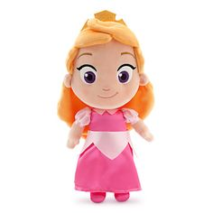 "disney store sleeping beauty 13"" small toddler aurora plush toy new with tags"