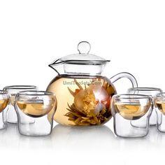 Zen Classic Heat Resistant Glass Tea Set