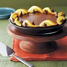 Chocolate-Orange Mascarpone Pie