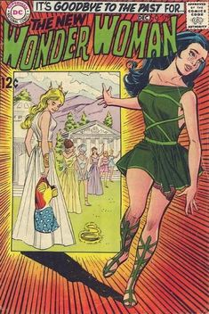 To save Wonder Woman's comic, they jettison her superhero life!