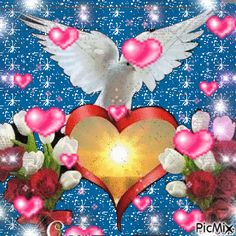 гълъб и сърце Pictures Of Christ, Zendaya Style, Angel Wallpaper, Beautiful Love Pictures, Cute Good Morning, Divine Mercy, Happy Birthday Cakes, Picture Cards, Birthday Greetings