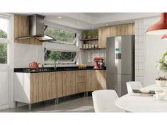 Cozinha Completa Líder Casa Aroma - 8 Portas e 3 Gavetas