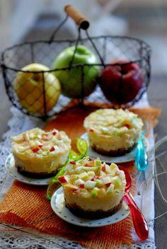 Cheesecakes au spéculoos et à la gelée de pommes - Au fil de mes rêves d'amour