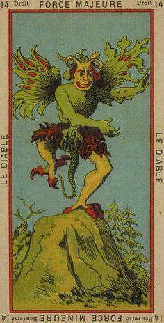 Etteila Tarot The Devil