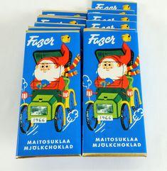 Fazer pieni suklaalevy 1966 - Turun museokeskus Amy Tan, Commercial Ads, Old Ads, Kakao, Geisha, Finland, Childhood Memories, Retro Vintage, Nostalgia