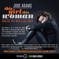 Today is the last day to contribute to Jude Adams' crowdfunding campaign through Phundee. Please follow the link to read about Jude's story and contribute to the campaign: https://www.phundee.com/reward/campaign/debut-album-launch