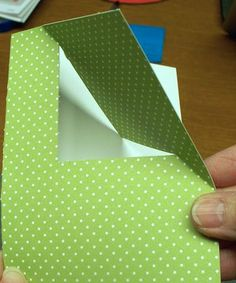 Corner Flip 5 inspire: like half an impossible cardProject of the Week ~ Flipped Corner Card – The House That Stamps Built Card Making Templates, Card Making Tips, Card Making Tutorials, Card Making Techniques, Flip Cards, Fun Fold Cards, Folded Cards, Step Card, Karten Diy