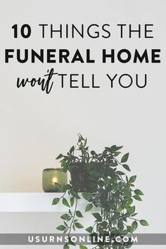 10 Things the Funeral Home Won't Tell You - And what you can do about it. 10 Things the Funeral Home Won't Tell You Funeral Food, Funeral Poems, Funeral Memorial, Funeral Wishes, Funeral Planning Checklist, Financial Planning, Organizing Important Papers, Family Emergency Binder, When Someone Dies
