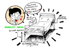 FUNCTIONAL ASSISTANCE FOR THE ELDERLY: BED MOBILITY