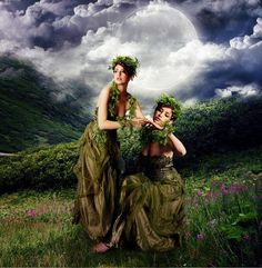 Twins of the glade