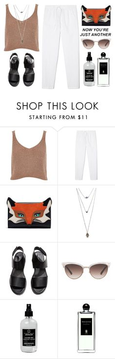 """""""Untitled #151"""" by chiraz-11 ❤ liked on Polyvore featuring River Island, Wet Seal, H&M, Gucci, Little Barn Apothecary and Serge Lutens"""