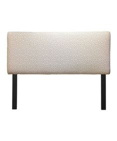 Take a look at this Onyx Gray Towers Headboard by S.O.L.E. on #zulily today!