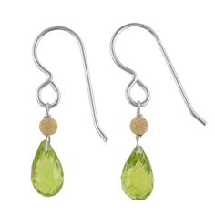 Peridot Gemstone Sterling Silver Handmade Earrings by Ashanti >>> Find out more about the great product at the image link. Note:It is Affiliate Link to Amazon.