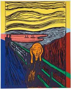 Andy Warhol / The Scream (After Munch)