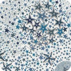 Cousette - Liberty Adelajda bleu