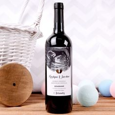 Personalizowane Czerwone Wino DOBRA NOWINA