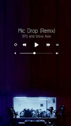 Mic Drop Remix WALLPAPER