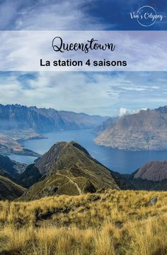 Il y a le plus profond, le plus large… voilà désormais le plus long lac de Nouvelle-Zélande : Wakatipu ! En forme de S, il s'étire de Kingston, au sud, à Glenorchy, au nord, sans oublier, bien sûr, au centre, du lac comme de tous les divertissements, Queenstown. Ville des sensations fortes et des plaisirs sportifs.  #Queenstown #Otago #SouthIsland #NZ #NouvelleZelande #NewZealand #travel #Roadtrip #Vantrip #Sport #randonnée #NZmustdo Road Trip, Kingston, Centre, Mountains, Sport, Nature, Travel, New Zealand, Entertainment