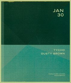 ISO50 Tycho Show Flyer