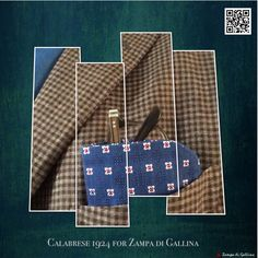 Calabrese 1924 Silk Eyeglass Case. Available at zampadigallina.com