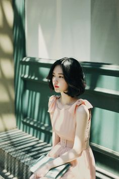 I believe this is Yun Seon Young Ulzzang Fashion, Ulzzang Girl, Asian Fashion, Korean Ulzzang, Fall Fashion, Fashion Tips, Asian Woman, Asian Girl, Lady Like