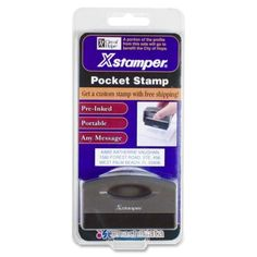 Xstamper 30140 City of Hope Custom Stamp #30140 #Xstamper #TAAStamps  https://www.officecrave.com/xstamper-30140.html